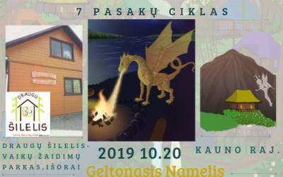 Vidinis Lobis – Geltonasis Namelis, Jonavos raj. spalio 20