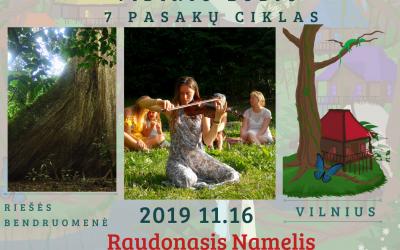 Vidinis Lobis – Raudonasis Namelis, Vilniuje, lapkričio 16d.