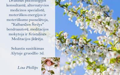 Lina Phillips Meditacija Alytuje, gruodžio 3d.
